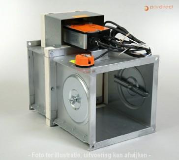 Brandklep - FDMA-1000x1000-230V/90/BF230T