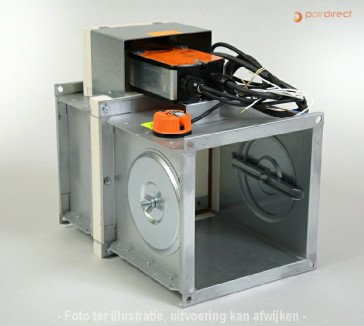 Brandklep - FDMA-1400x200-230V/90/BF230T