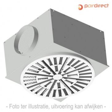 Plafond wervelrooster - VVDM/K/S/O/400