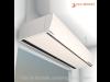 Luchtgordijn _ Teddington P_3_300cm _ Elektrisch verwarmd