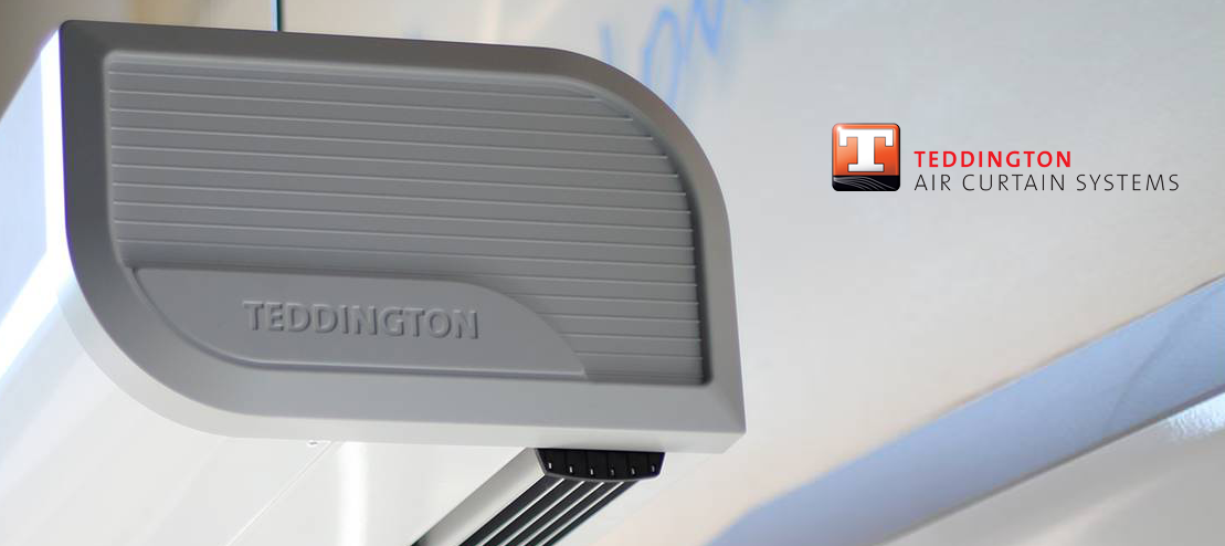 Luchtgordijn - Teddington