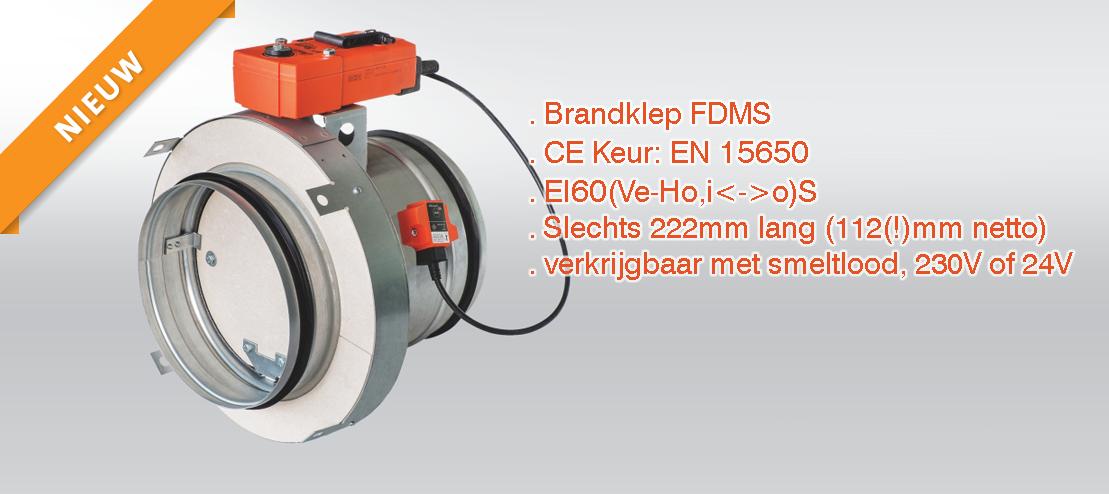 FDMS Brandklep